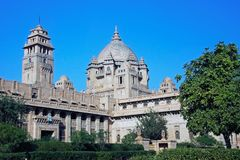 Palast Umaid Bhavan in Jodhpur, Rajasthan, Indien, Asien Lizenzfreies Stockbild