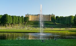Palast und Gärten Frederiksberg stockbilder