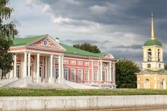 Palast und Glockenturm Lizenzfreies Stockfoto