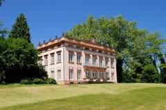 Palast und Park von Schönbusch Lizenzfreies Stockbild