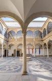 Palast Vazquez de Molina Palace der Ketten Hof, Ubeda Stockbilder