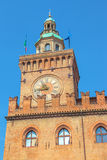 Palast von Accursio Bologne Stockfotos