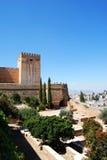 Palast von Alhambra, Granada Lizenzfreie Stockfotos
