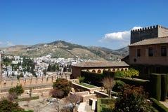 Palast von Alhambra, Granada Lizenzfreies Stockbild
