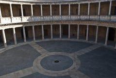 Palast von Carlos V, Alhambra Stockfotografie