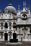 Palast von Doges stockbild