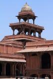 Palast von Fatehpur Sikri von Jaipur in Indien Stockfotografie