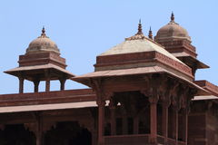Palast von Fatehpur Sikri von Jaipur in Indien Lizenzfreies Stockbild