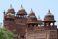 Palast von Fatehpur Sikri von Jaipur in Indien Stockbild