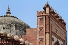 Palast von Fatehpur Sikri von Jaipur in Indien Stockbilder