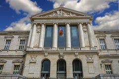Palast von Gerechtigkeit in Nizza Stockfoto