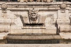 Palast von Gerechtigkeit in Rom, Italien Stockfotografie