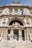 Palast von Gerechtigkeit in Rom, Italien Stockbilder