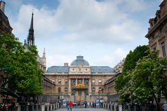 Palast von Gerechtigkeit und von heiliger Kapellenkirche Stockbilder