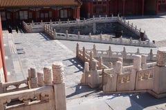 Palast von Hall von konservierter Harmony Baohedian in der Verbotenen Stadt, Peking lizenzfreie stockfotos