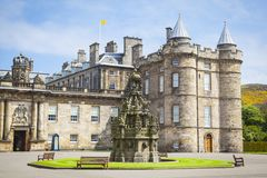 Palast von Holyroodhouse stockfotos