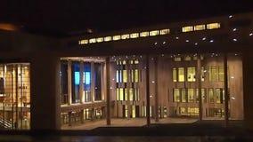 Palast von Künsten und von Nationaltheater stock video footage