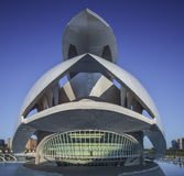 Palast von Künsten Valencia Palau Lizenzfreies Stockfoto