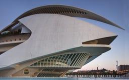 Palast von Künsten Valencia Palau II Lizenzfreies Stockfoto