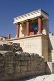 Palast von Knossos Stockfoto