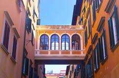 Palast von Livorno Stockfotografie