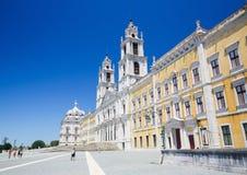 Palast von Mafra, Portugal Stockfotografie