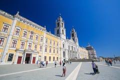 Palast von Mafra, Portugal Lizenzfreies Stockbild