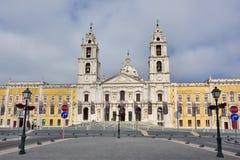 Palast von Mafra Portugal Stockfoto