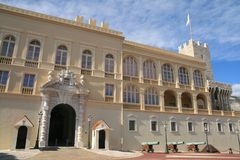 Palast von Monaco Stockfoto