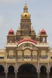 Palast von Mysore in Indien Lizenzfreies Stockbild