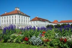 Palast von Nymphenburg Stockbild
