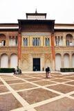 Palast von Peter 1, Alcazar königlich in Sevilla, Spanien Stockfoto