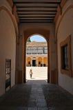 Palast von Peter 1, Alcazar königlich in Sevilla, Spanien Stockfotos