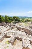 Palast von Phaistos Stockfoto