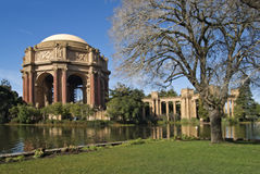 Palast von schönen Künsten in San Francisco Lizenzfreies Stockfoto
