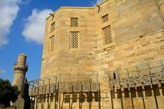 Palast von Shirvan-Schah, Baku, Aserbaidschan Stockfotografie