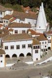 Palast von Sintra - nahe Lissabon - Portugal stockbilder