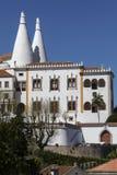 Palast von Sintra - nahe Lissabon - Portugal lizenzfreie stockfotos
