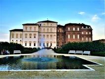 Palast von Venaria, königlicher Wohnsitz Stockbild