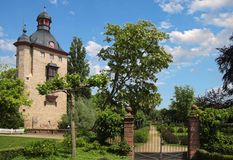Palast von Vollrads stockbild