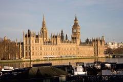 Palast von Westminster Stockfotografie