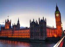 Palast von Westminster. stockfotos