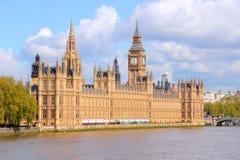 Palast von Westminster Stockfotos
