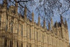 Palast von Westminster Stockbild