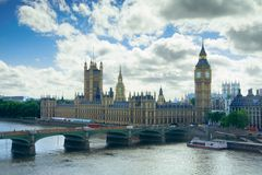 Palast von Westminster, London stockfotografie