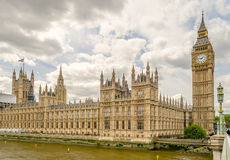 Palast von Westminster, Parlamentsgebäude, London Lizenzfreie Stockfotografie