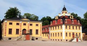 Palast in Weimar Stockfoto