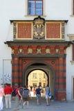 Palast Wiens Hofburg stockfotografie