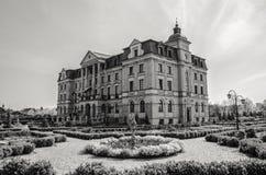 Palast in Wloclawek stockbilder