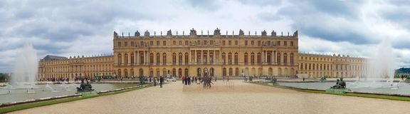 Palastde Versailles. Stockfotografie